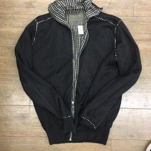 Diesel rising sun sweater jacket zip up S